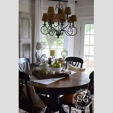 Dining Table Decor {for An Everyday Look} Tidbits&twine