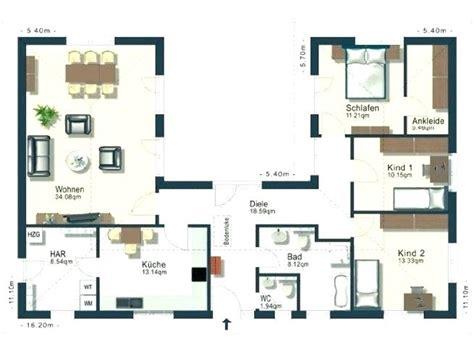 Grundriss Bungalow 140 Qm by Bungalow Einfamilienhaus Grundriss Bungalow 150 Qm