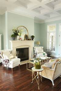 decorative accessories for living room Easy Spring decorating! (Wall color: Sherwin William's ...