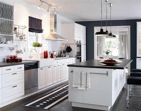 Fancy Ikea White Cabinets Kitchen  Greenvirals Style