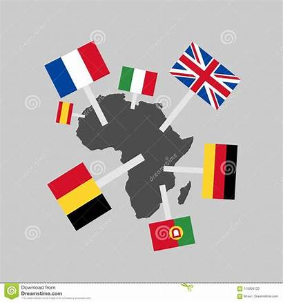 Colonialism Africa Clipart Imperialism Dreamstime Illustration