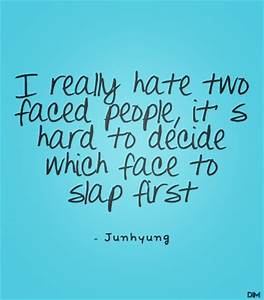 Quotes About Two Faced People. QuotesGram
