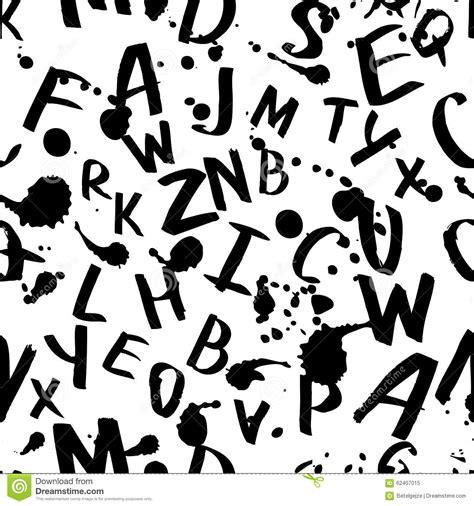 gewebe mit geflammtem muster 5 buchstaben vector nahtloses muster mit lateinischem alphabet des