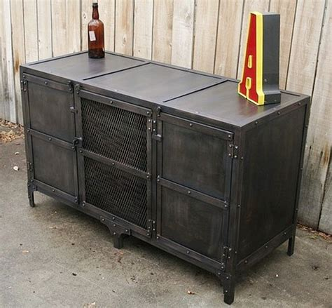 Metal Sideboard Cabinet by New Custom American Iron Retro Living Room Tv Cabinet To