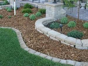 Stone Edging: Complete Beautiful Landscape of Yard