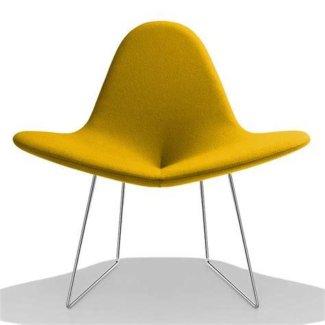 hauteur de bar cuisine petit fauteuil design jaune my flower sur cdc design