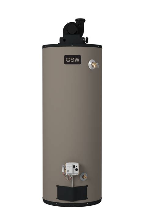 power vent gas water heater gsw