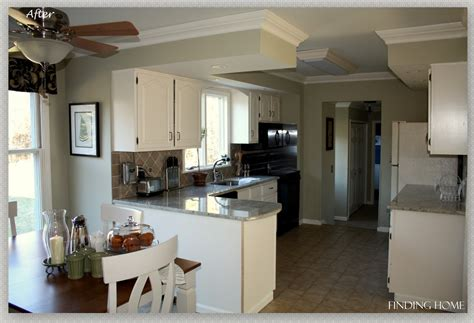 painting oak cabinets white before and after remodelaholic from oak to beautiful white kitchen 134