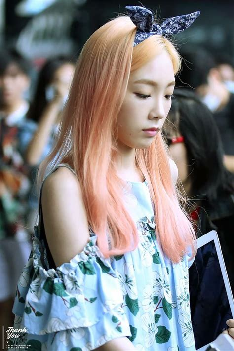 17 best images about taeyeon hair style color on