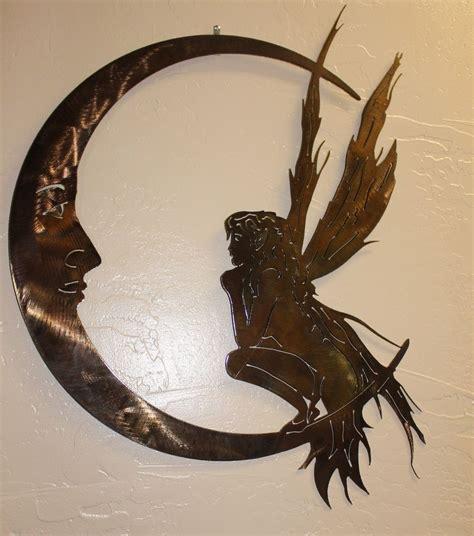 garden fairy and the moon metal wall art ebay