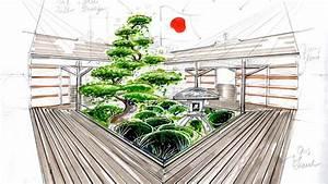 Jardin Dessin Couleur : apprendre le dessin de jardin la mise en couleur des ~ Melissatoandfro.com Idées de Décoration