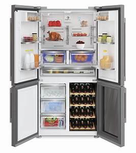 Kühlschrank Und Gefrierkombination : grundig side by side k hlschrank gwn 21210 x mit weink hler und wasserspender ~ Markanthonyermac.com Haus und Dekorationen