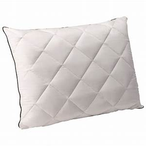 Comfort revolution quilted down and memory foam pillow for Down and foam pillow