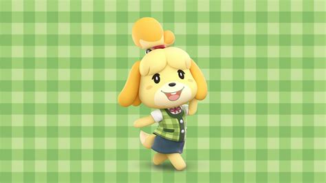 Isabelle Animal Crossing Wallpaper - isabelle wallpaper using smash render animalcrossing