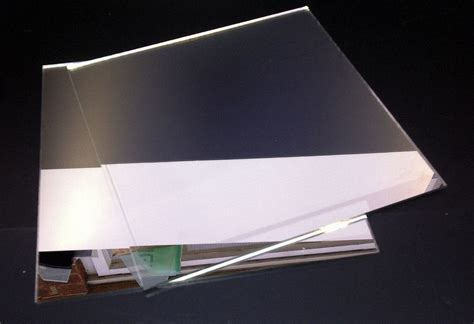 plexiglass mirror pack of 5 silver mirror mirrored acrylic sheets a4 perspex