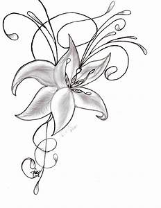 How Easy Step By Step Drawings Of Flowers To Draw A Flower ...