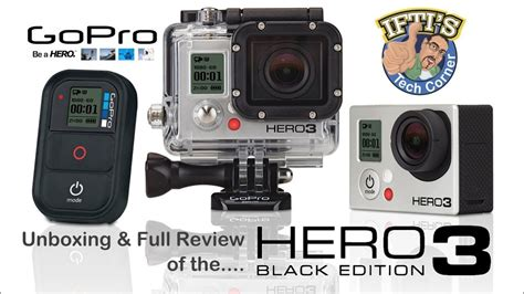 gopro hero black edition unbox full review youtube