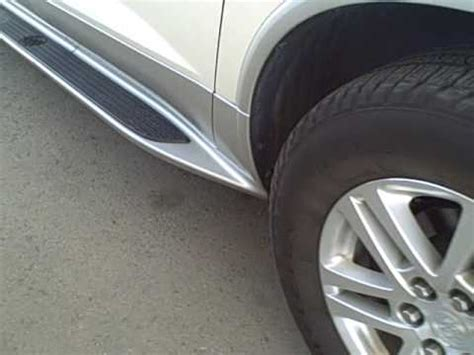 enclave gm running boards youtube