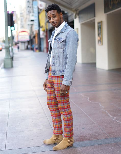 Diy Plaid Wool Pants Chelsea Boots Norris Danta Ford