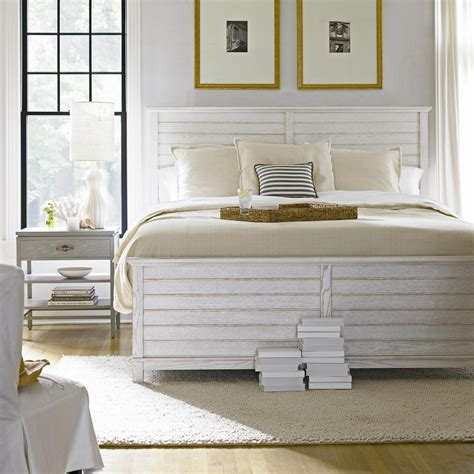 Coastal Bedroom Furniture Sets by Bright Clean And Cozy King Cape Comber Panel Bed From