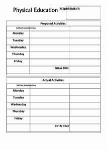 Employee Record Form Physical Education Record Keeping Form Printable Pdf Download