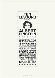 Happy Birthday, Albert Einstein! // Ten Lessons From ...