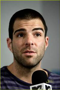 Full Sized Photo of zachary quinto comic con 11 | Photo ...