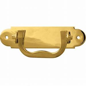 Solid Brass Jewelry Box Handle