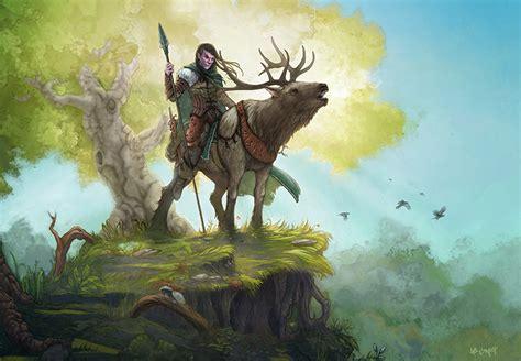 Half Elf Ranger By Leesmith On