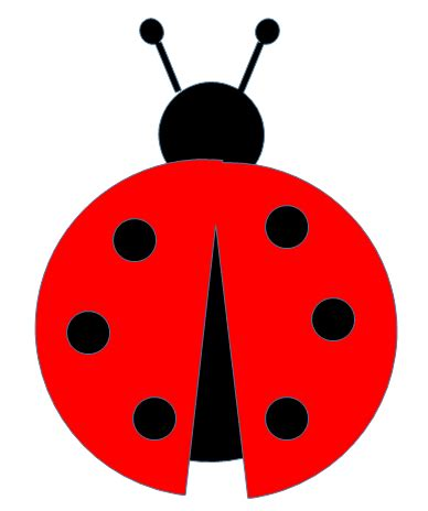 ladybug template paper this and that free ladybug svg file