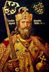The crown of Charlemagne, crowned the first Holy Roman ...