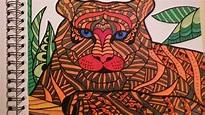 ColorIt Wild Animals Adult Coloring Book Colorist:Barbara ...