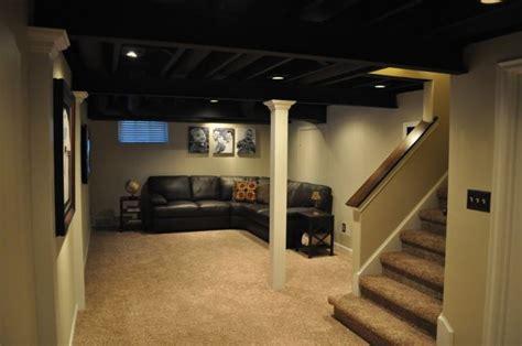 Painting Basement Ceiling Joists  Mechanicals Non