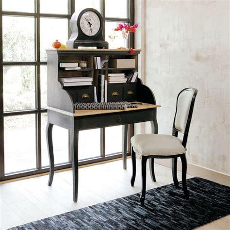 chaise maisons du monde bureau secr 233 taire en manguier noir chalk paint vintage antiques and salons