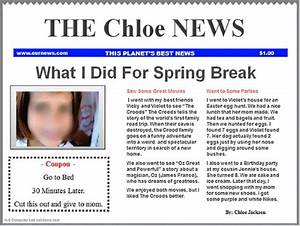google classroom newspaper template blue k 5 computer lab With google drive newspaper template