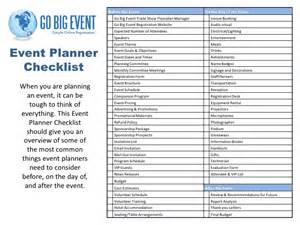 wedding coordinator checklist event planner checklist