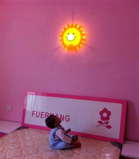 2019 kid room lights wall l smiley sun light children indoor lights decorative