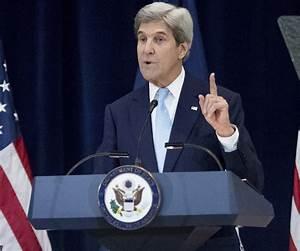 Former Secretary of State John Kerry Writing Memoir ...