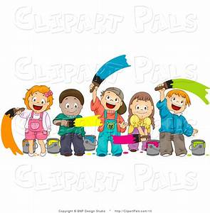 Clip Art Female Painting Clipart - Clipart Suggest