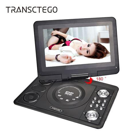 porta cd auto transctego dvd player portable tv 13 9 inch with digital