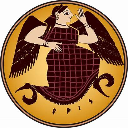 Eris Greek Clipart Discord Goddess Mythology Discordianism