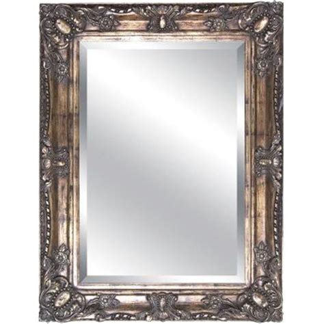 rectangular wall mirrors decorative 35 in x 47 in rectangular decorative framed mirror