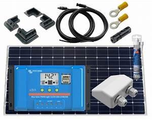 175w Deluxe Solar Panel Kit For Motorhomes