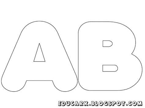 moldes de letras grandes para cartazes imagui