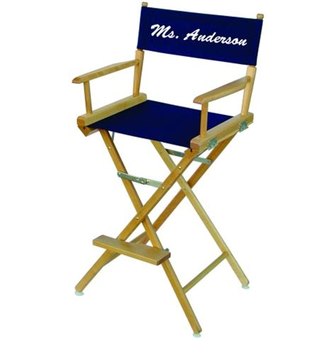personalized directors chair for custom