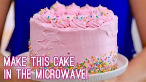 3-Layer Cake Made in the Microwave | Gemma's Bigger Bolder ...