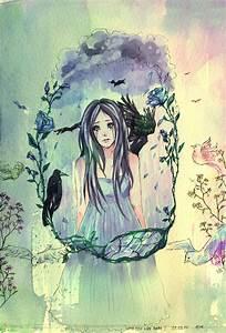 Sad drawing by Paerytopia on DeviantArt