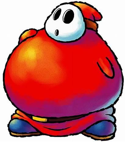 Mario Fat Guy Super Yoshi Shy Island