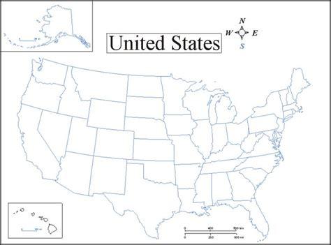 printable us map printable map of usa map of united states homeschool pinterest more