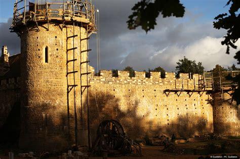 guedelon  castle   making